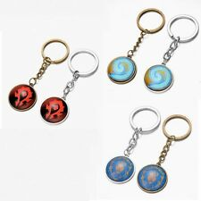 WoW World of Warcraft horde  alliance Hearthstone Glass Key chains game keychain