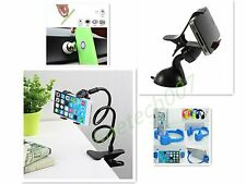 Univers Flexible Bracket Mobile Phone Stand Holder Car Bed Desk For iPhone BS