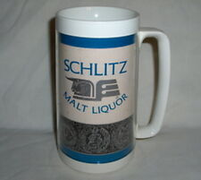1970s Schlitz Malt Liquor Beer WESTBEND Thermo-Serv Insulated Cup/Mug