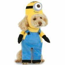 Minion-Stuart-Dog-Costume-Small-or-Large-2-Pieces-Step-in-Shirt-Padded-Headpiece