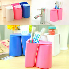 1Pcs Magnetic Gargle Suit Wall Mount Stand Wash Cup Tooth Mug Toothbrush Holder