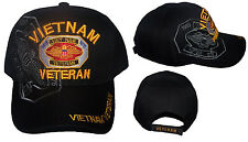 Vietnam Veteran US Military Baseball Caps Hats  Embroidered (7506V69^)