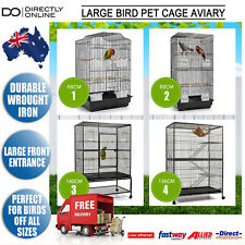 Large Bird Pet Cage Aviary Enclosure Parrot Budgie Cat Ferret Hamster Rat 68 88