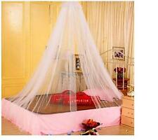 Girls Home Travel Lace Round Bed Netting Dome Canopy Mosquito Curtain Bedroom