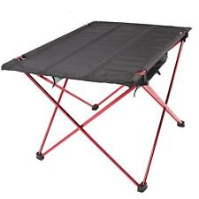 Portable Aluminum Roll Up Table Folding Camping Outdoor Picnic Table Ultra-light