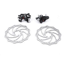 MTB Mountain Road Bike Bicycle Brake Disc Front Rear Calipers Set 2 Pairs