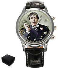 OSCAR WILDE WRITER POET GENTS MENS WRIST WATCH  GIFT ENGRAVING