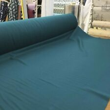 Wool Fabric In Teal Green - Coating Weight Wool Fabric 60 By the yard