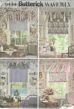 Butterick 6434 Valances and Shade   Sewing Pattern