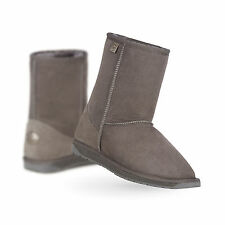 EMU Australia Womens Sheepskin Boots Platinum Stinger Lo in Charcoal