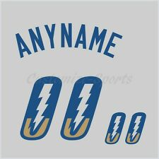 Baseball Omaha Storm Chasers Gray Jersey Customized Number Kit un-sewn