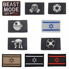 Trendy Embroidery War Military Tactical Army Morale Patch Badge Armbands New