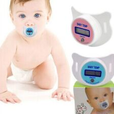 Practical Mouth Nipple Temperature Baby LCD Digital Pacifier Thermometer Quality
