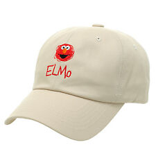 HA12.Sesame Street Elmo Cotton Baseball Cap Hat Adjustable Unisex Men Women