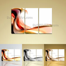 Large Stretched Canvas Wall Art Prints Abstract Painting Modern Home Decoration