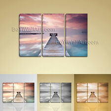 Large Ocean Sunrise Landscape Contemporary Home Decor Wall Art Print BedRoom