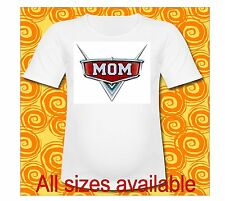 Mom of the Birthday Boy Cars Lightning McQueen T Shirt All Sizes Cars 3 T Shirt