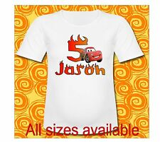 Mom Cars Lightning McQueen T Shirt Pick All Sizes or Sayings Cars 3 Mom Birthday