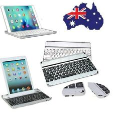 HOT Black White Aluminum Bluetooth Wireless Keyboard Cover Case For iPad 234 Air