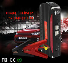 68800mAh 12V Auto Jump Starter Car Emergency Battery Charger Booster Power Bank