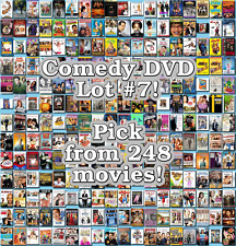 Comedy DVD Lot #7: 248 Movies to Pick From! Buy Multiple And Save!