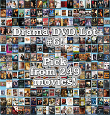 Drama DVD Lot #6: 249 Movies to Pick From! Buy Multiple And Save!