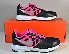 NWT GIRLS KIDS NIKE DOWNSHIFTER 6 PINK BLACK RUNNING SHOES SZ 2Y-4Y