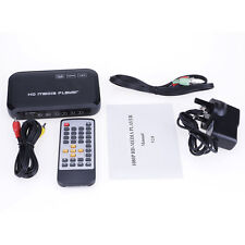Remote Full HD 1080p Multi-Media Player SD&USB2.0 Reader HDMI/VGA/AV Outputs