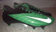 NEW Mens Sz 11 NIKE Vapor Pro Low D Detachable Green Black White Football Cleats
