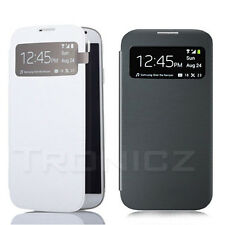 Screen View S-View Window Flip Cover Case for Samsung Galaxy SIV S4 GT-i9500