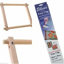 Elbesee Easy Clip Hand Rotating Frames ALL SIZES Needlework Tapestry Embroidery