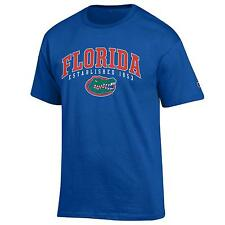 Florida Gators NCAA College T shirt made by Champion Blue