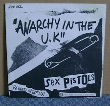 Sex Pistols - Anarchy In The UK - EA French 640112 - 7 Inch