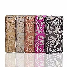 Fashion 3D Plastic Hollow Out Back Hard Case Cover Skin For iPhone 6 6S 7 Plus