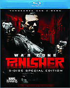 Punisher: War Zone (Blu-ray Disc, 2009, 2-Disc Set, Widescreen Special Edition)