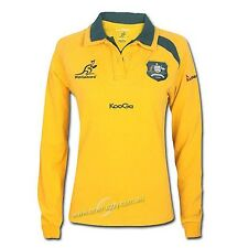 Wallabies 2013 Ladies Traditional Long-Sleeved Jersey Sizes 6 - 20