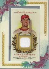 2007 Topps Allen and Ginter Relics #CK Casey Kotchman Jersey- NM-MT