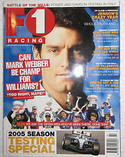 F1 Racing Magazine - 2005 Australia Monthly Issues Sold separately - Formula 1