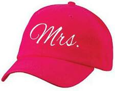 MRS. Baseball Style Cap Hat Wife Bridal Wedding Honeymoon Bride