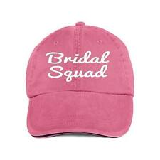 Bridal Squad.Baseball Style Cap Hat Bridal Wedding Party Bridesmaids