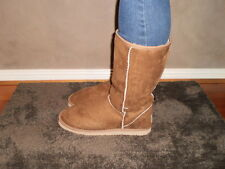 Chestnut Short Pull Up Ugg Boots Sizes 6 - 13