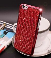 Bling Swarovski Element Crystal Diamond Red Soft case For iphone 6 6s {xb73