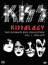 KISS - Kissology The Ultimate Collection Vol. 1 1974-1977 2 DVD SET New & Sealed
