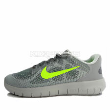 Nike Free RN 2017 GS [904255-004] Running Cool Grey/Volt