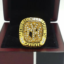 2000 New York Yankees World Series Championship Ring 11Size Solid Back