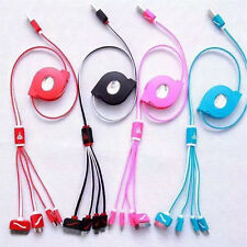 1Pcs Mini 3 in 1 /4 IN 1 USB Charger Cord Sync Data Cable for Phone Type-C Micro