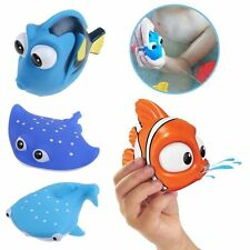 Finding Dory Nemo Squirt Bath Toys Squirters Figures for Kids Baby Shower Swim
