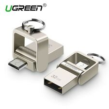 Ugreen USB Flash Drive 64GB Metal Pendrive High Speed USB Memory Stick 32GB pen