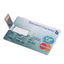 USB Flash Credit Card 16GB 32GB USB Flash Drive Pen Drive 32GB 64GB Pendrive 4GB