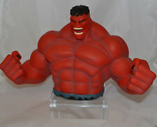 Marvel THE HULK Bust Bank Money Bank (Red Grey Green)